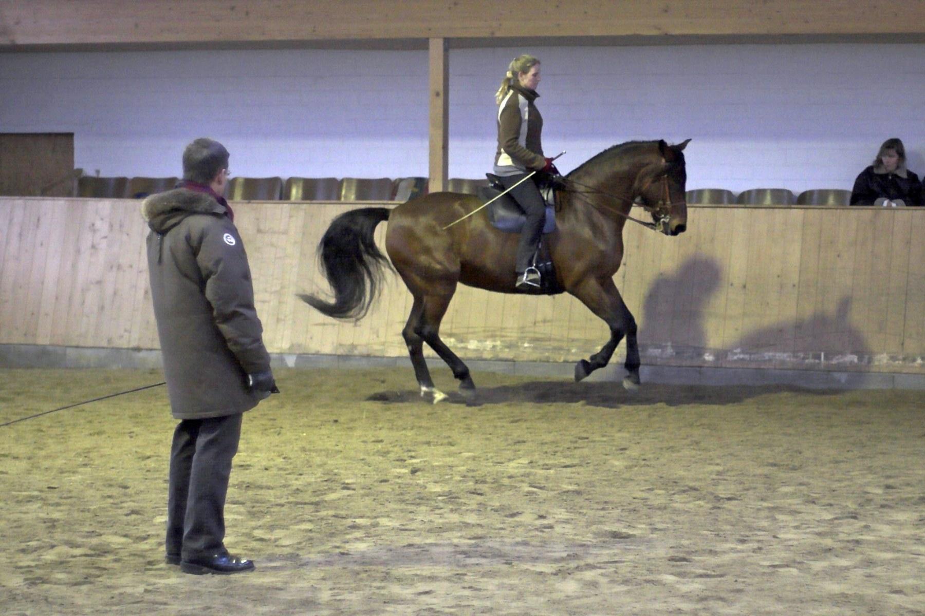 Unterricht mit Marc de Broissia 2004.