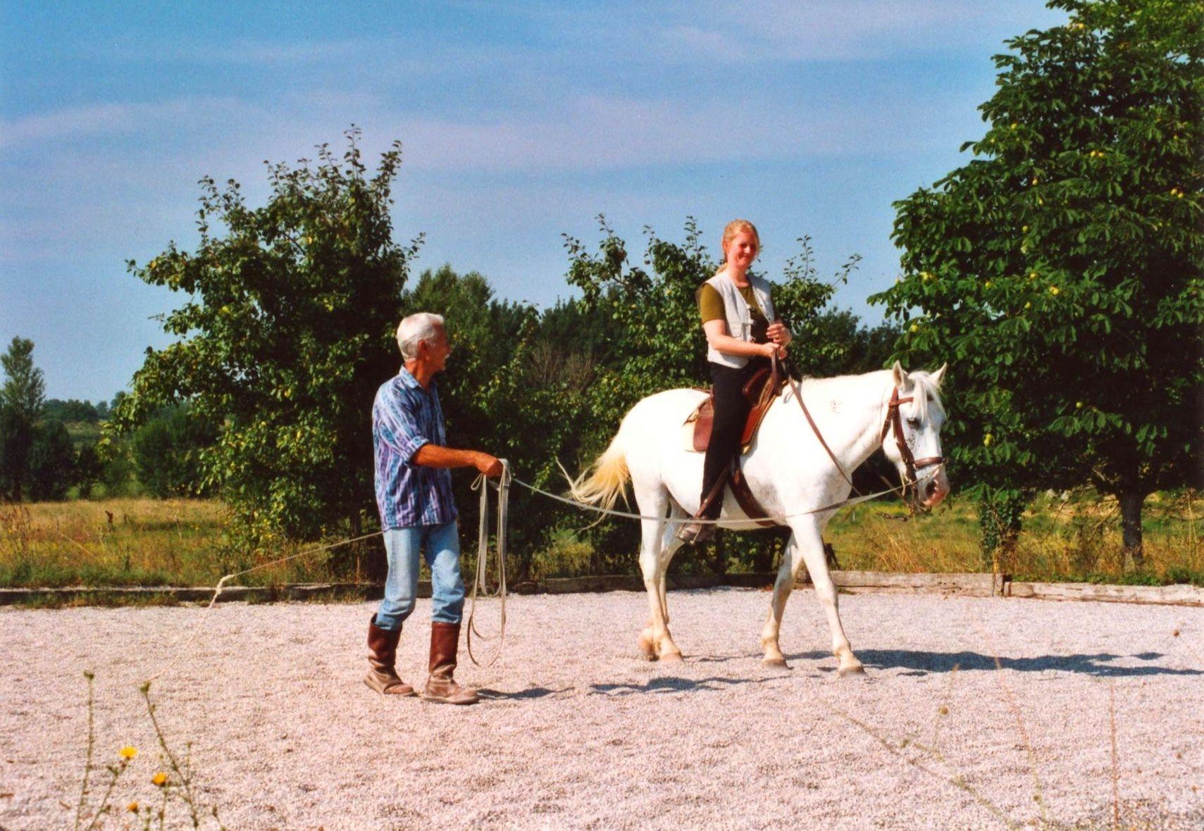 Bei Sadko Solinski 2001 in Frankreich.